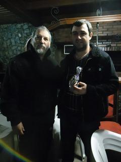Tiago Braz com Valmir Souza