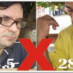 Leonardo Araújo e Roberto Castillo, dois gigantes separados por apenas meio ponto