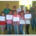 MÁRCIO 4/5   &   ALCIDES PAZ realizam o sonho  de crianças  promovendo  torneio de xadrez na Escola Professor Dias