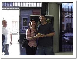 Ignácio e sua esposa